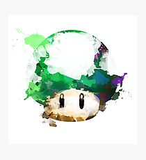 Watercolor 1-Up Mushroom Photographic Print