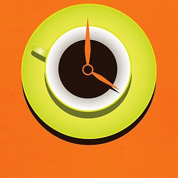 Coffee Time Contemporary Art by azzza