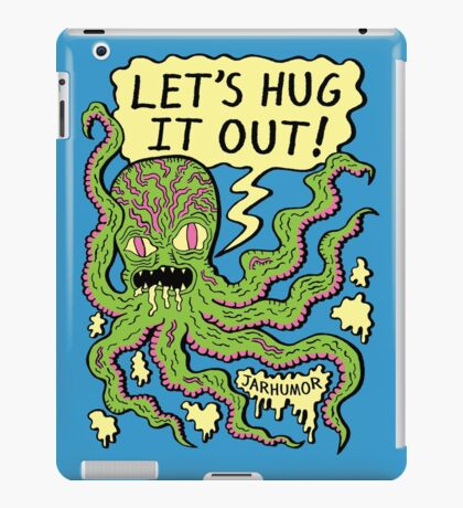 Lets Hug It Out iPad Case/Skin