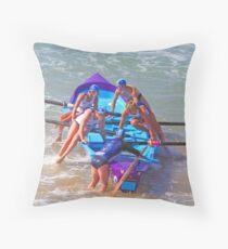 ASRL Navy Torquay 07 Throw Pillow