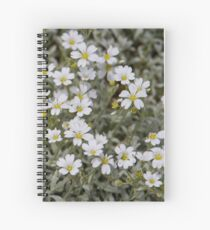 Clusters of Flowers in the Bush Spiral Notebook