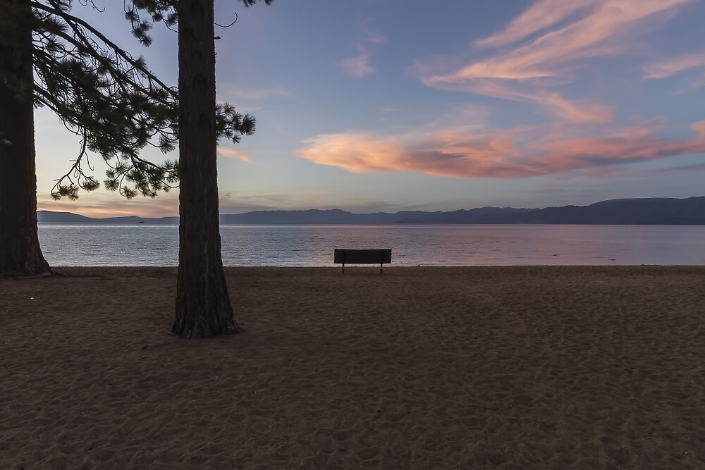Dusk at Pope Beach  by Richard Thelen
