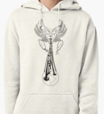 Machinichromatic - Healing the world one note at a time - BW Pullover Hoodie