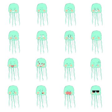 Cutie Jellyfish by Lia Jung by liajung