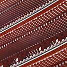 Pagoda roof pattern by vfphoto