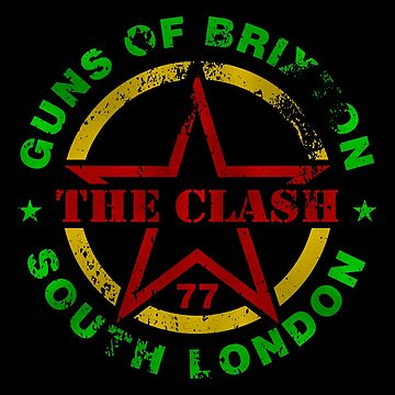 The Clash - Guns of Brixton by andreleichtfuss