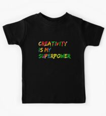 Creativity is my Superpower Kids Clothes
