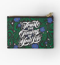 Trust the Timing of Your Life Zipper Pouch