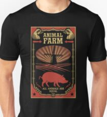 All Animals Are Equal Slim Fit T-Shirt