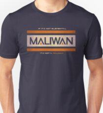 IF IT'S NOT ELEMENTAL, IT'S NOT A MALIWAN! Unisex T-Shirt