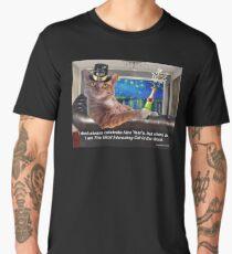 The Most Interesting Cat New Year's Men's Premium T-Shirt