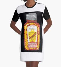 """Advert for Formamint """"Wulfing"""" Brand Tablets produced by Genatosan Ltd, Loughborough Graphic T-Shirt Dress"""