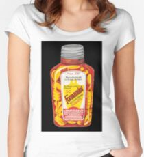 """Advert for Formamint """"Wulfing"""" Brand Tablets produced by Genatosan Ltd, Loughborough Fitted Scoop T-Shirt"""