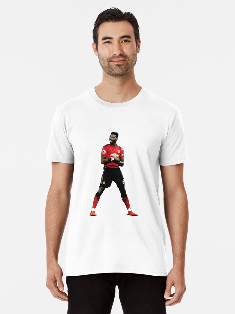 eec6ade53b8 Paul Pogba Celebration - Manchester United T Shirt