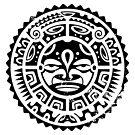Tribal Hawaiian Sun God by northshoresign
