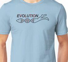 Evolution DNA Jesus fish Unisex T-Shirt