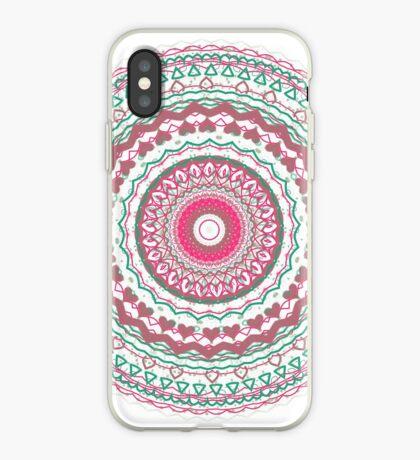 Heartfelt Mandala  iPhone Case