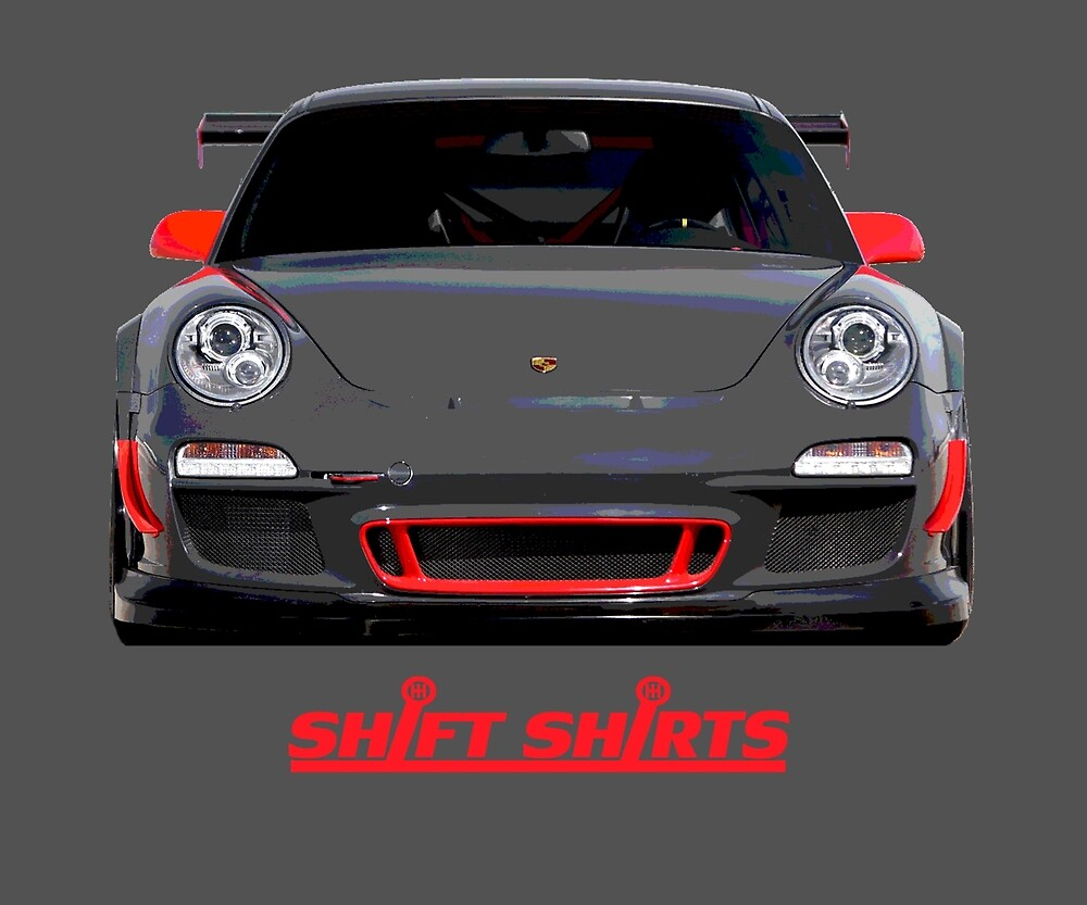 Paddock View - GT3 RS by ShiftShirts