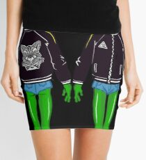 Fashion alien Mini Skirt