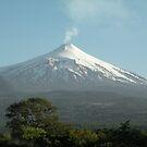 Volcán Villarrica.  by cieloverde