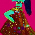 Persian Belly dancer by Astal2