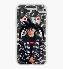goku white iPhone Case