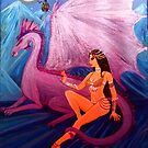 Lady and the dragon. by Astal2