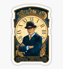 Inspector Spacetime Nouveau (II) Sticker