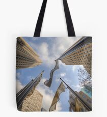 Fluttering Flags Tote Bag