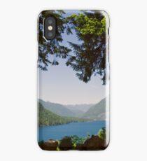 Lake Cushman in Summer iPhone Case/Skin