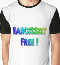 Narcissist Free - blue hue Graphic T-Shirt