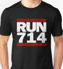 714 Design Run California Gifts 714 Shirt Unisex T-Shirt