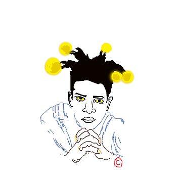 Basquiat by 2CreateArt