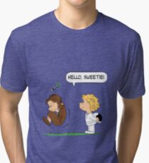 Hello, Sweetie Tri-blend T-Shirt