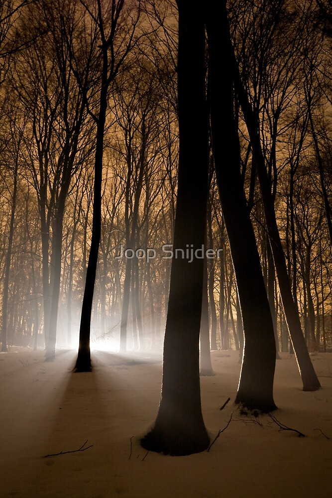 Mysterious Light by Joop Snijder