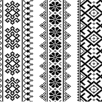 Ukrainian Ethnic Seamless Pattern Ukraine Traditional Slavic Designs Ornaments by 108dragons
