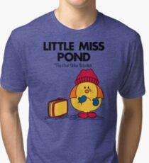 Little Miss Pond Tri-blend T-Shirt