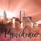 Vorsehung | Stadt Skyline | Buntes Aquarell von PraiseQuotes