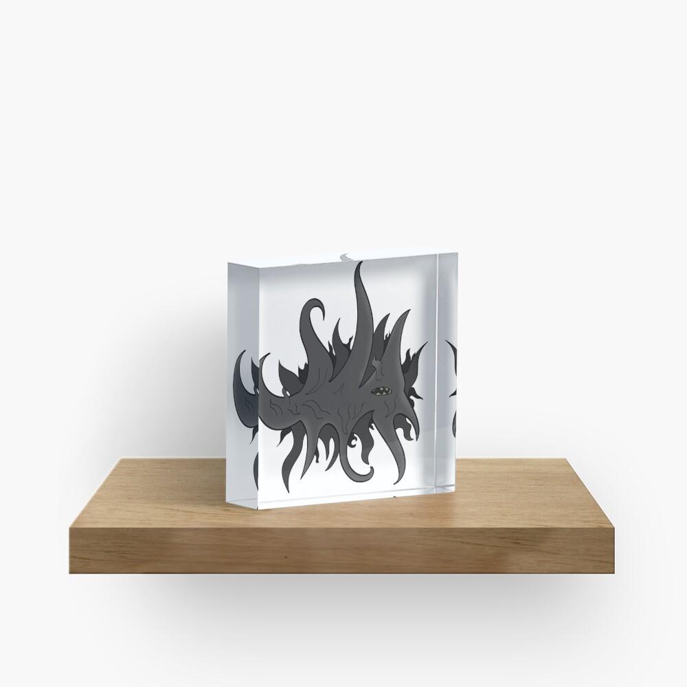 Lovecraft Monster Acrylic Block