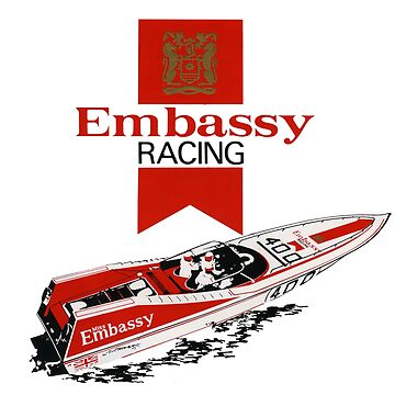 1970s Embassy Racing Boat.  by taspaul