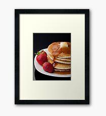 Pancakes Framed Print