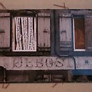 Secret Postcard n°6 by Pascale Baud