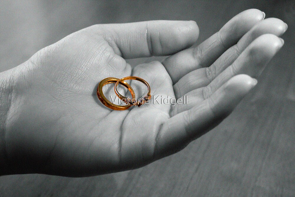 Hand me the rings by Victoria Kidgell
