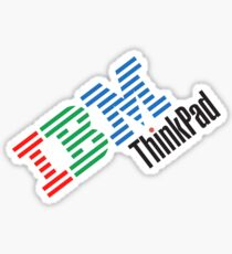 Pegatina IBM ThinkPad