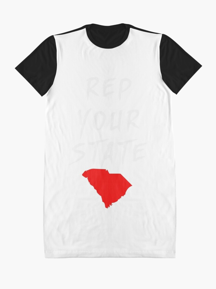 Alternate view of REP YOUR STATE SOUTH CAROLINA Graphic T-Shirt Dress