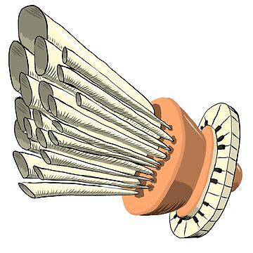 Sapce Wind Organ by niry