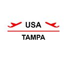Tampa USA Airport Plane Light-Color by TinyStarAmerica