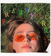 Clairo pretty girl album cover Poster
