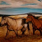 Prairie Pastures Detail Study by Susan McKenzie Bergstrom
