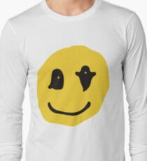 kids see ghosts smiley Long Sleeve T-Shirt